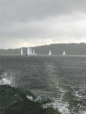 Dramatic weather for Heron Open Meeting on Saturday 11th May